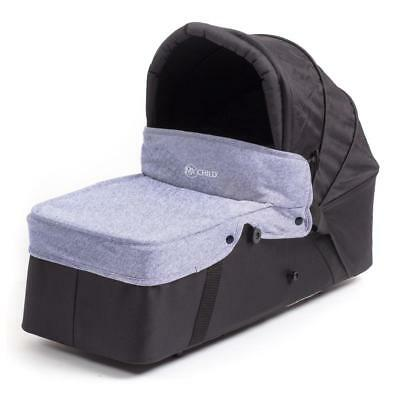 MyChild Easy Twin Second Carrycot (Grey) designed for Easy Twin Double Stroller