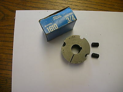 "Martin 1610 3/4 Taper Lock Bushing 3/4"" Bore New"