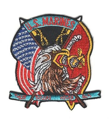 USMC Marine Patch:  These Colors Never Run