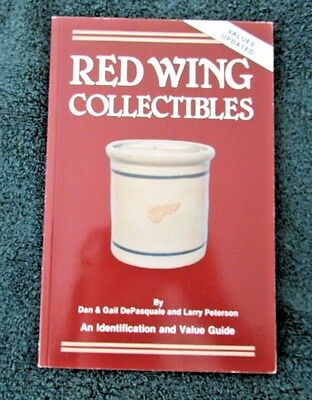 RED WING Stoneware Price Guide COLLECTORS BOOK Crocks JUGS Churn Marking ID Mark