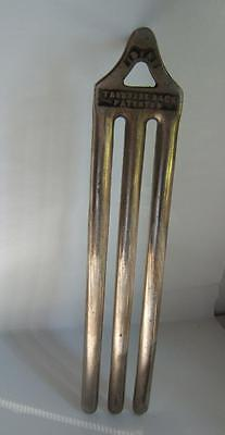 Antique Nickel Plated Ideal Trouser Rack Patented Train-Hotel?