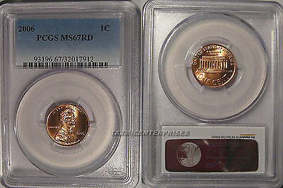 2006 P Lincoln Cent 1c PCGS MS67RD