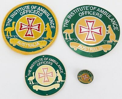 Good Selection Of The Institute Of Ambulance Officers Australia Items