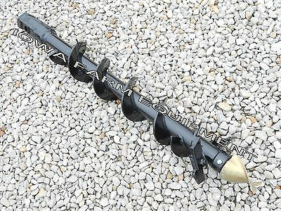 "McMillen, McMillan Heavy Duty Post Hole Digger AUGER 6""x4'x 2"" HEX"