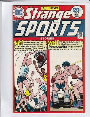 STRANGE SPORTS STORIES #4 VF+, Irv Novick & Dick Giordano art, Nick Cardy,  DC
