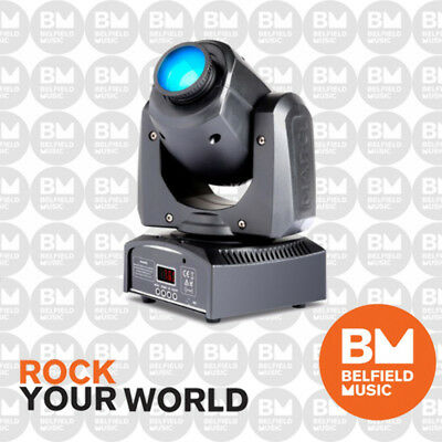 MarQ Gesture Spot 100 15W LED Moving Head DJ Disco Light Lighting  Brand New -BM