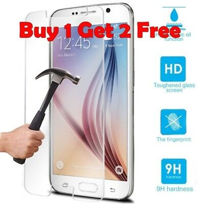 Buy 1 Get 3 Genuine Tempered Glass Screen Protector For Samsung Galaxy 6 {Pd161