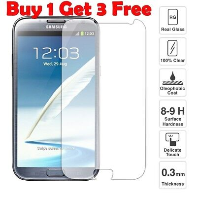 Buy 1 Get 4 Genuine Tempered Screen Protector For Samsung Galaxy Note2 {Pd162