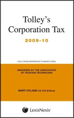Tolley's Corporation Tax 2009-10: Main Annual (Paperback), Hyland. 9780754537335