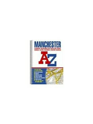 Manchester Street Atlas (spiral) by Geographers A-Z Map Company Spiral bound The