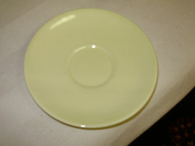 """Vintage 1950's Taylor Smith & Taylor Yellow Lu-Ray  Pastel Saucer/no Cup/6 1/8"""""""