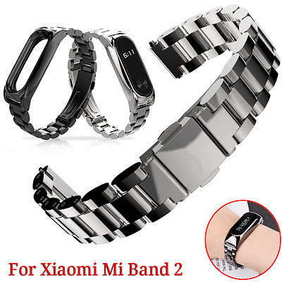For Xiaomi 2 Mi Band 2 Replacement Stainless Steel Wrist Strap Bracelet Band UK
