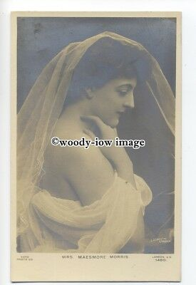 b4236 - Stage Actress - Maesmore Morris in Linen -  postcards