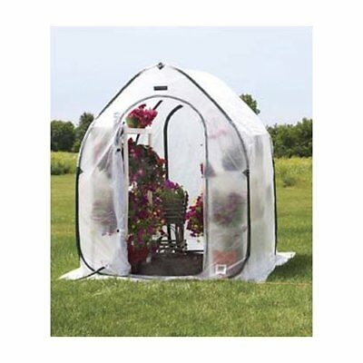 Flowerhouse PlantHouse 5 Ft. W x 5 Ft. D Mini Greenhouse