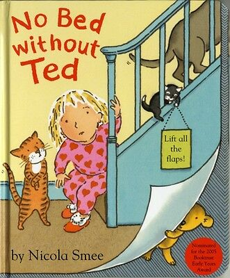 No Bed without Ted (Board book), Smee, Nicola, 9780747586616