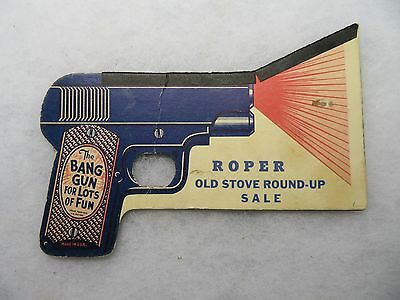 The Snap Bang Gun Roper Stove Paper Indian Chief Pop Noise Advertising