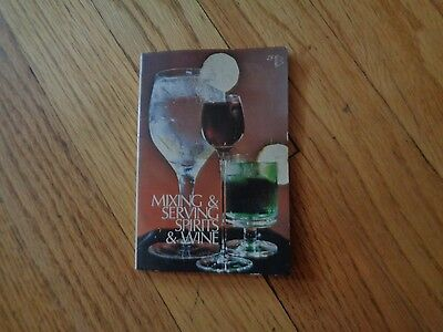 Vintage Cocktail Book Recipes Guide Bartending Drink Mixing Mixed