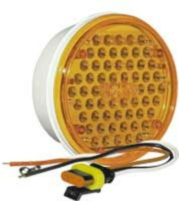 Imperial 81093 Truck-Lite Led Super Rear Turn Lamp,14Volts, Yellow
