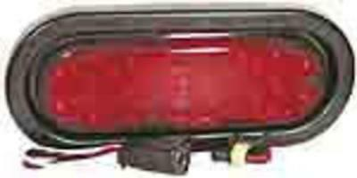 Truck-Lite 81237 LED 60-Series Stop/Turn/Tail Lamp Grommet Kit, Red