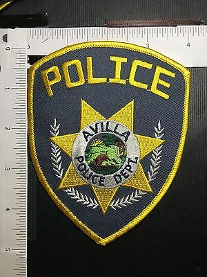 Avilla Indiana Police  Shoulder  Patch