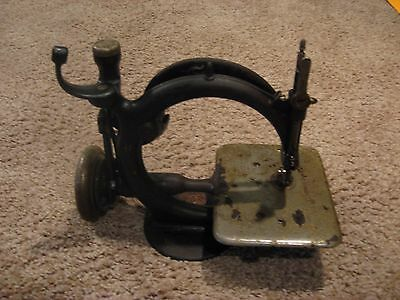 Vintage Willcox And Gibbs Sewing Machine For Restoration