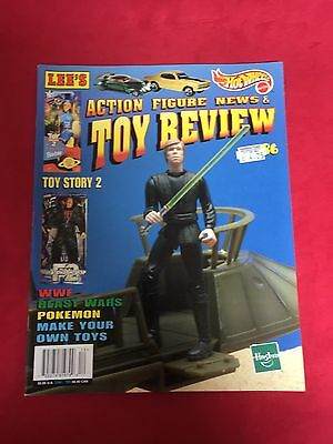 LEE'S Action Figure News & Toy Review Magazine #86 1999 Star Wars Cover USA