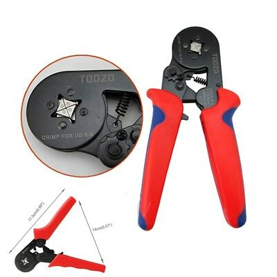 Ratchet Ferrule Crimper Plier Crimping Tool Cable Wire Electrical Terminals Kit