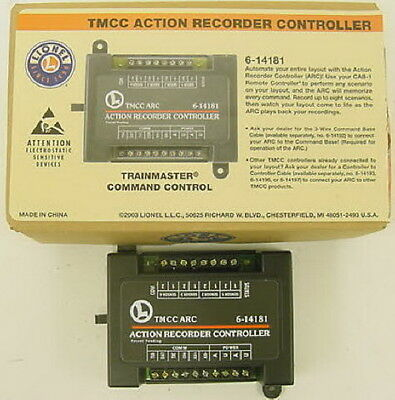 Lionel 6-14181 TMCC Action Recorder Controller - ARC