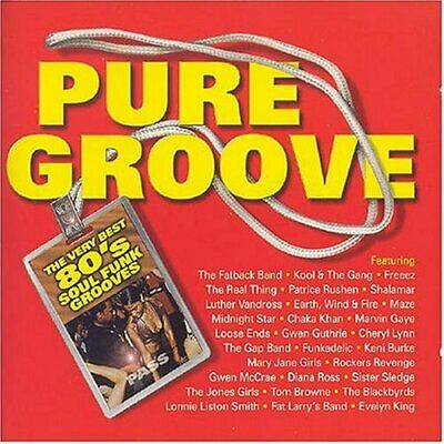 Various Artists - Pure Groove - Various Artists CD P7VG The Fast Free Shipping