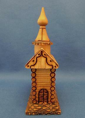 Hand Crafted Wooden Russian Orthadox Church Model - Russia