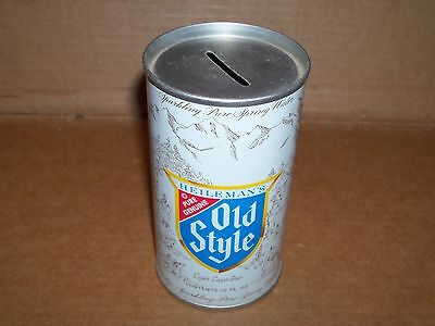 Heileman's OLD STYLE Beer Can Bank - 12 ounce Size