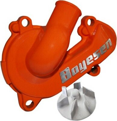 Boyesen Waterpump Cover Impeller Kit Orange For KTM 250 SXF 13-15, 350 SXF 11-15