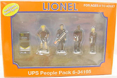 Lionel 6-34195 Pewter UPS People Figures #2