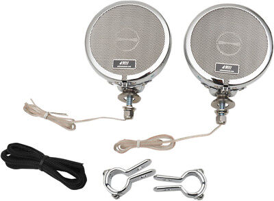 """MH Motorcycle Rumble Road Limited Stereo Chrome System For 1"""" Bars"""