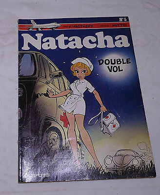 BD Natacha Double Vol Walthéry Mariette