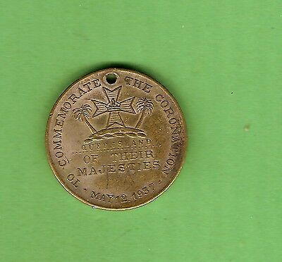 #d308. 1937  Queensland   Coronation Medal