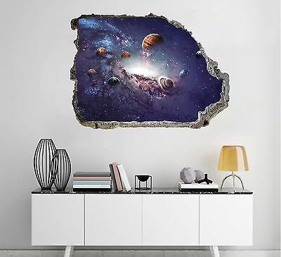 3D Space Planets 10 Wall Murals Wall Stickers Decal Breakthrough AJ WALLPAPER AU
