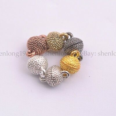 5/10/20Sets Silver/Gold Plated Jewelry Powerful Magnetic Clasps 13X9MM