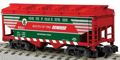 American Flyer 6-48638 S North Pole Express 'Route of the Reindeer' Hopper
