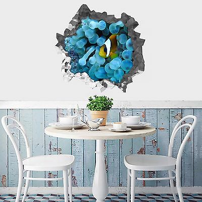 3D Seabed Fish 101 Wall Murals Wall Stickers Decal Breakthrough AJ WALLPAPER AU