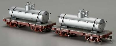Bachmann 26521 On30 Data Only 18' Tank Car Silver (2)