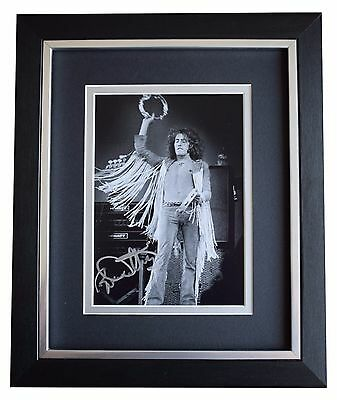 Roger Daltrey SIGNED 10x8 FRAMED Photo Autograph Display The Who Music COA