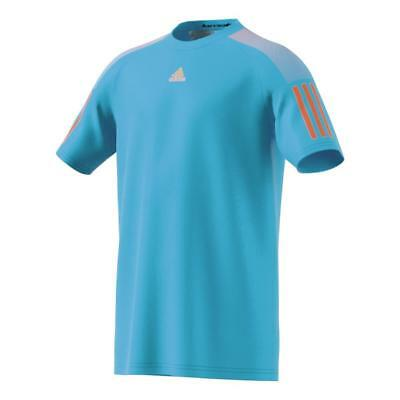 Adidas Boys Barricade Climalite Tennis T-Shirt Training Tee - NEW