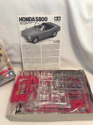Tamiya Honda S800 - 1/24 Scale Sports Car Series No. 190 Model Kit!  #642