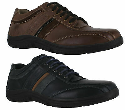 Mens Hush Puppies Thalia Percy Lace Up Casual Smart Trainers Shoes Sizes 6 to 12