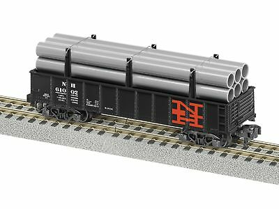 American Flyer 6-48879 S New Haven Gondola with Pipes