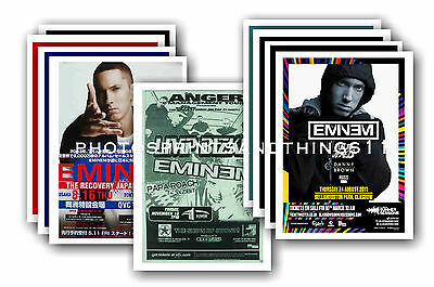 EMINEM  - 10 promotional posters - collectable postcard set # 2