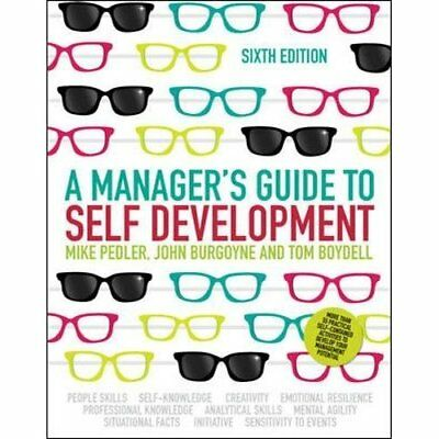 A Manager's Guide to Self Development - Paperback NEW Mike Pedler 2013-08-01