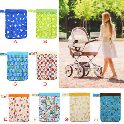 Washable Wet Bag Reusable Cloth Menstrual Sanitary Maternity Napkin Nappy Pouch