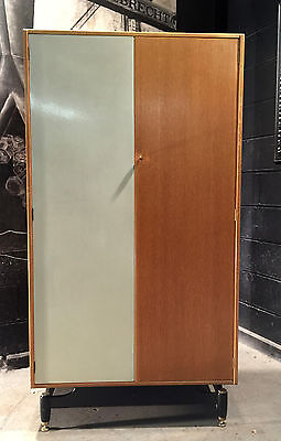 Can Deliver Vintage Retro Modernist Mid Century E Gomme Wardrobe 1950 Bedroom